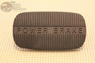 58-65 Chevy Impala 58-63 Corvette 62-67 Nova Power Brake Rubber Pedal Pad New Chevy Corvette Brake Pad