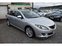 Mazda Mazda6 2.2TD ( 163ps ) TS2 ESTATE GREY 2009 MODEL NEW SHAPE