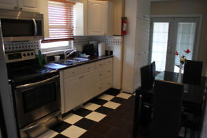 4 bedroom furnished house close to downtown and uOttawa.