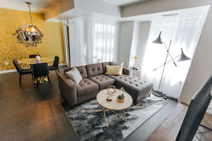 Gorgeous King West Furnished Large 3 Bedroom Avail Sept 1,17