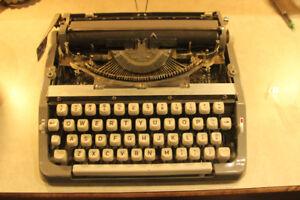 Vintage  Portable Brother Typewriter.
