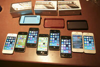 Clean iPhones 4/4s for sale 8g up to 32g PRICES NEGOTIABLE