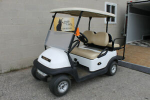2013 White Club Car Precedent ( Electric Golf Cart )
