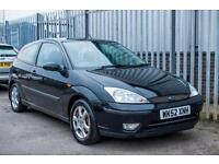 2003 FORD FOCUS 1.6 EBONY - HIGH SPEC HATCHBACK PETROL