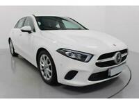 2018 WHITE MERCEDES A180D 1.5 SPORT EXECUTIVE AUTO CAR FINANCE FR £289 PCM