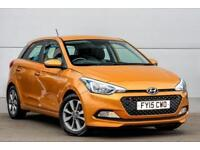 2015 Hyundai i20 1.2 SE (84 PS) Petrol orange Manual