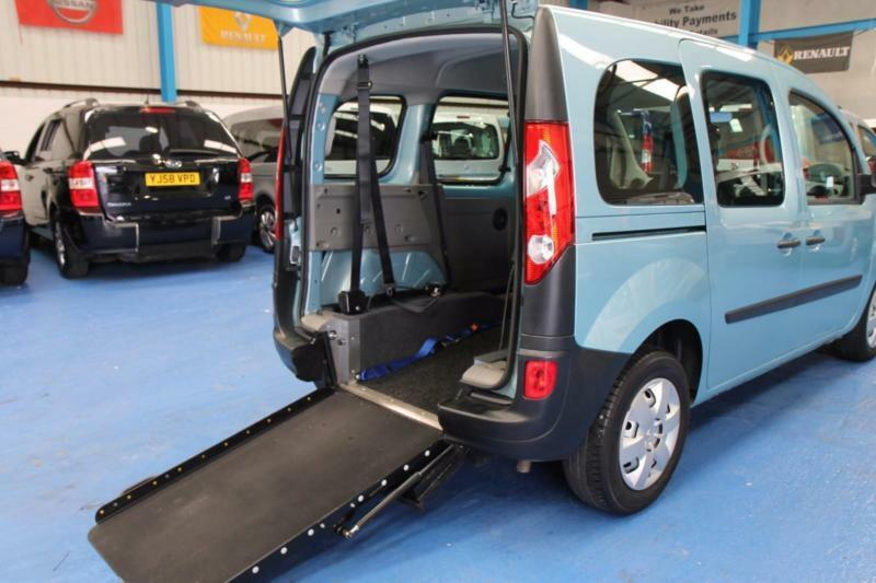Wheelchair Ramps For Cars >> Renault Kangoo Auto Automatic Wheelchair or mobility scooter access car vehicle | in Eccles ...