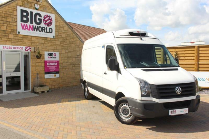 2013 VOLKSWAGEN CRAFTER CR35 TDI 109 STARTLINE MWB HIGH ROOF FRIDGE WITH OVERNIG
