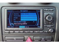 The Latest 2016 Sat Nav Disc Update for Audi RNS-E Navigation Map DVD. www latestsatnav co uk