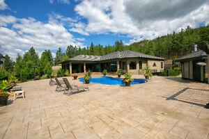 Luxury home, Lake View, 2 acres