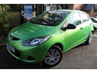 2009 Mazda 2 1.3 TS AIR CON Green 5 Door FSH Long MOT Finance Available