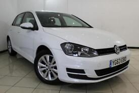 2013 63 VOLKSWAGEN GOLF 2.0 SE TDI BLUEMOTION TECHNOLOGY 5DR 148 BHP DIESEL