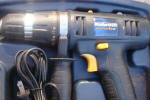 Mastercraft Source high energy 18 volt electric drill