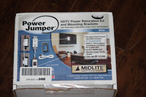 Midlite Power Jumper HDTV Power Relocation Cable PJW-7R2-MC