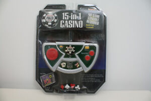 15-IN-1 CASINO  ELECTRONIC GAME