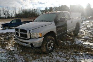 2003 2500 Ram 6sp 4x4 Diesel Parting Out @ HM Cores