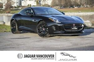 2016 Jaguar F-Type Coupe S AWD *Certified Pre-Owned 6yr/160,000k