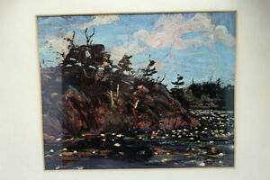 "Tom Thomson Print ""The Lily Pond""  Group Of 7 Artist Kingston Kingston Area image 7"