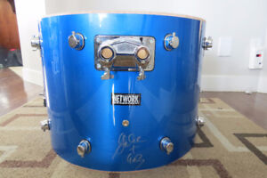 """NEW 22"""" Base Drum Signed by Gabe Mantle from GOB"""