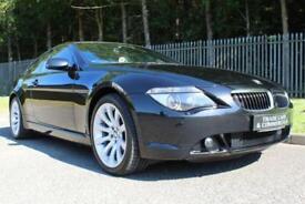 2007 07 BMW 6 SERIES 4.8 650I SPORT 2D AUTO 363 BHP
