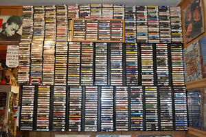 HOLY TAPES BATMAN! NEARLY 1000 GOOD ROCK CASSETTE TAPES