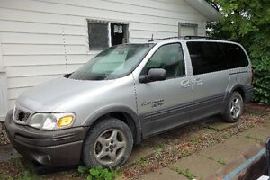 2002 Pontiac Montana Thunder Minivan, Van