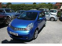 Nissan Note Nissan Note 1.6 Tekna 5dr FULL HISTORY