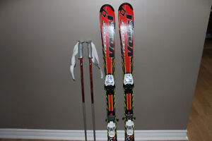 Volki Skis, poles and googles
