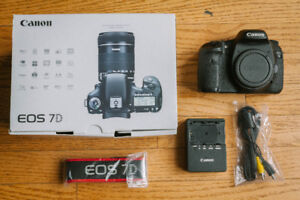 Canon 7D with Battery Grip (Lowered Price)