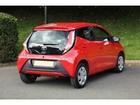2017 Toyota AYGO 1.0 VVT-i X-Play 5dr Petrol red Manual
