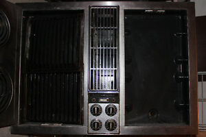 Jenn-Air cook top with fan