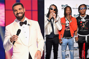 Drake and three migos ticket august 21(section 117)
