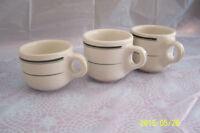 Medalta cups and Medicine Hat Potteries bowls