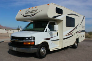 Looking for a diesel motorhome 21 to 24 feet long.