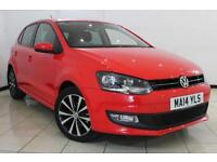 2014 14 VOLKSWAGEN POLO 1.2 MATCH EDITION 5DR 69 BHP