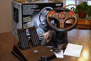 InterAct V3fx Racing Wheel and Brakes for Sony PlayStation