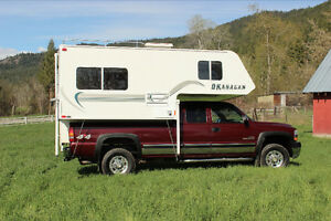 Truck and Camper Combination - Camping ready