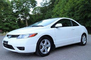 2007 Honda Civic Coupe EX Manual 5 Speed-Sunroof-108 PICTURES!