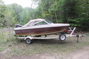 16ft Doral with 50HP Evinrude & Trailer