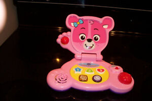 Vtech baby ordi ourson rose