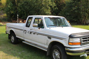 1995 FORD F250 SUPER CAB XL  7.3