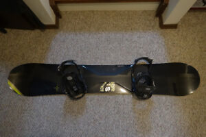 Used Once Salomon Special 159 w/boots (11), bindings