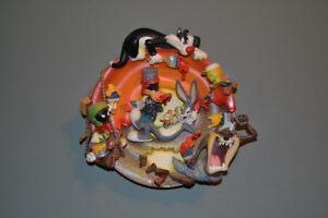 "Bradford Exchange Looney Tunes ""PAINT CRAZY"" 1st Edit. 3D Plate"