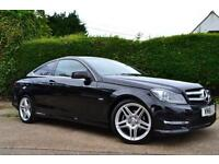 2011 MERCEDES C-CLASS C250 CDI BLUEEFFICIENCY AMG SPORT ED125 COUPE DIESEL