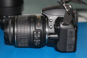 Nikon D3100 Camera and 18-55mm kit lens