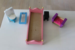 WOOD FURNITURE FOR DOLL HOUSE