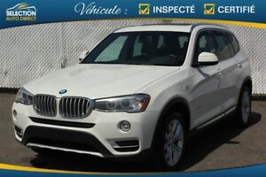 BMW X3 AWD 4dr xDrive28d 2015