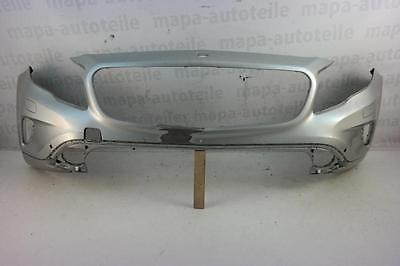 Mercedes GLA W156 Bj. ab 2013 Stoßstange Vorne PDC SRA Silber Original Versand
