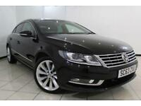 2013 63 VOLKSWAGEN CC 2.0 GT TDI BLUEMOTION TECHNOLOGY DSG 4DR AUTOMATIC 138 BHP