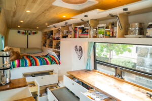 BEAUTIFUL, OFF-GRID, CUSTOM SPRINTER CAMPER VAN